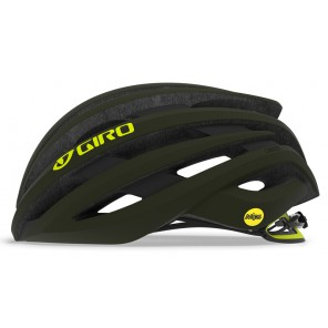 Kask szosowy GIRO CINDER INTEGRATED MIPS matte olive citron roz. M (55-59 cm) (NEW)