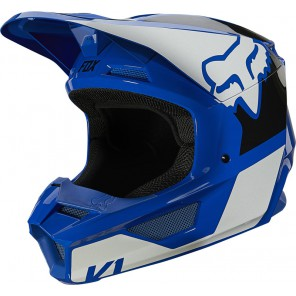 Kask FOX V-1 Raven niebieski
