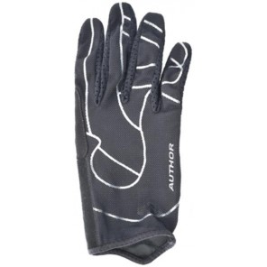 Rękawiczki kolarskie długie AUTHOR FF Pro czarne M