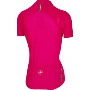 Castelli Koszulka kolarska Promessa 2, różowo-niebieska, rozmiar XS