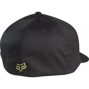 Czapka Z Daszkiem Fox Flex 45 Black/yellow S/m