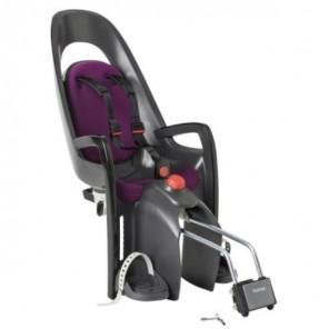 Hamax Fotelik row. CARESS szaro-czarny, purpurowa wyściółka