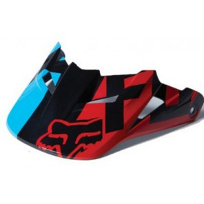 Daszek Do Kasku Fox V-1 Race Blue/red M-l
