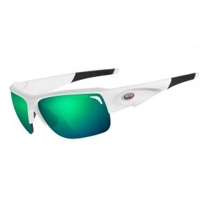 Okulary TIFOSI ELDER CLARION matte white (3szkła Clarion Green LUSTRO 10,3% transmisja światła, AC Red, Clear) (DWZ)