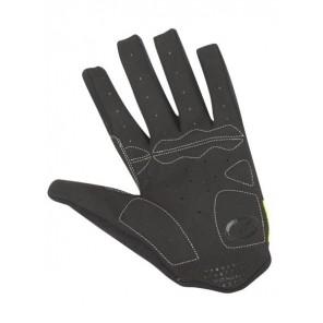 Rękawiczki kolarskie długie AUTHOR MEN SINGLE X5 czarno-żółte L