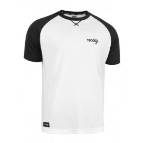 Koszulka ROCDAY Park biały/czarny