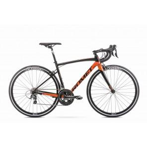 ROMET HURAGAN 4 czarno-pomarańczowy   50