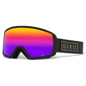 Gogle zimowe GIRO GAZE BLACK GOLD BAR (szyba ROSE SPECTRUM 15% S3)