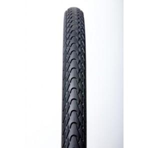 Opona TourGuardPlus  700x38C czarna wire, taśma odblaskowa