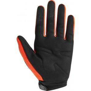 Rękawice Fox Junior Dirtpaw Race Flo Orange