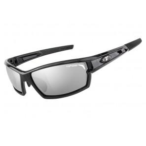 Okulary TIFOSI CAMROCK gloss black (3szkła Smoke 15,4% transmisja światła, AC Red, Clear) (DWZ)