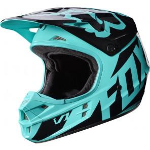 Fox 2016 V1 Race kask -czarno-niebieski-XL