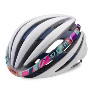 Kask szosowy GIRO EMBER INTEGRATED MIPS matte white floral roz. M (55-59 cm)