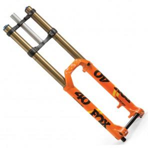 """FOX Forks 40 203mm 27,5"""" 20x110 pomarańczowy amortyzator"""