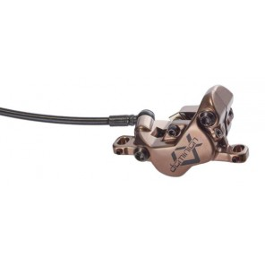 Hayes Hamulec DOMINION A4, przód, czarno-złoty, przewód 90 cm