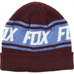 Czapka Zimowa Fox Lady Wild And Free Beanie Cranberry Os