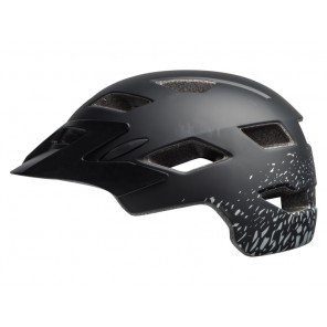 Kask juniorski BELL SIDETRACK matte black silver fragments roz. Uniwersalny (50–57 cm) (NEW)