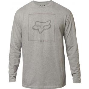 Fox Chapped Light Heather Grey koszulka z długim rękawem