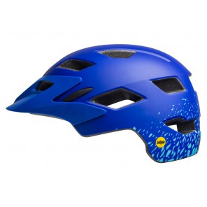 Kask juniorski BELL SIDETRACK MIPS matte pacific sky fragments roz. Uniwersalny (50–57 cm)