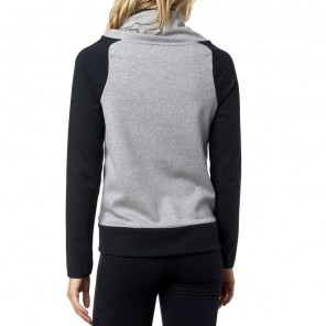 Bluza Fox Lady Z Kapturem Suggest Heather Grey Xs