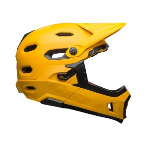 BELL SUPER DH MIPS SPHERICAL matte gloss yellow black kask-M