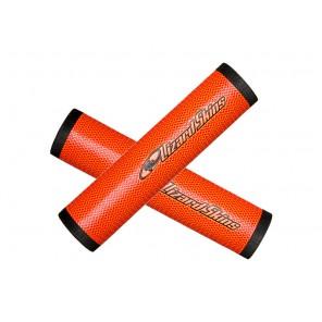Chwyty kierownicy LIZARDSKINS DSP 32.3 gr.32.3mm 130mm pomarańczowe
