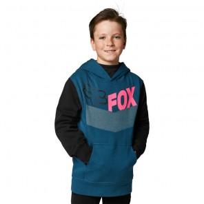Bluza z kapturem FOX Junior Trice niebieski