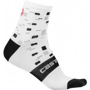 Skarpetki kolarskie Climbers W, biały, rozmiar S/M