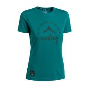 Koszulka ROCDAY Women Monty turkusowy