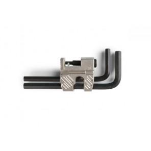 Accent Wyciskacz do łańcucha AC-12 z zestawem kluczy, srebrny