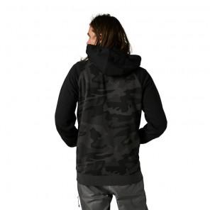 Bluza z kapturem FOX Badger black camo