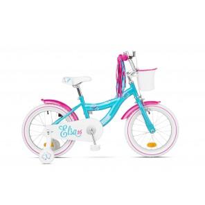"""Rower dziecięcy ACCENT Elsa 16"""" niebieski"""
