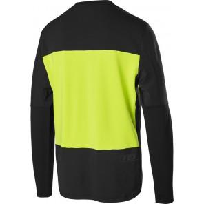 Koszulka Rowerowa Fox Z Długim Rękawem Defend Delta Lunar Day Glo Yellow