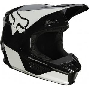 Kask FOX V-1 Raven czarno-biały