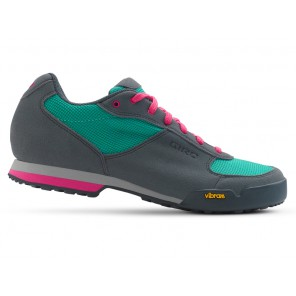 Buty damskie GIRO PETRA VR turquoise bright pink roz.41 (NEW)