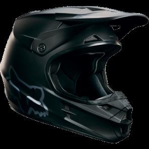 Fox 2016 V1 Matte Black kask -XL