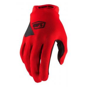 Rękawiczki 100% RIDECAMP Glove red