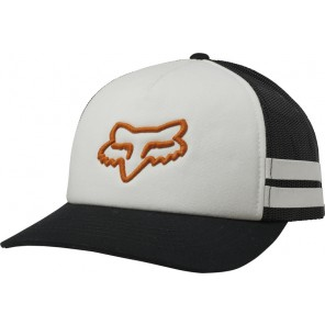 Czapka Z Daszkiem Fox Lady Head Trik Trucker White/org Os