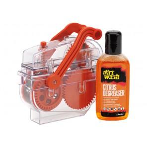 Maszyna do czyszczenia łańcucha WELDTITE DIRTWASH DIRT TRAP CHAIN DEGREASER MACHINE + Odtłuszczacz 75ml