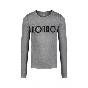 Rondo T-shirt Rondo Basicc (z długim rękawem) Ciemnoszary S