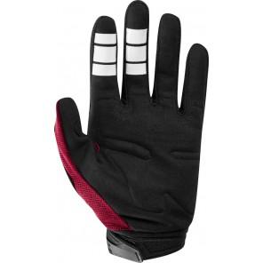 FOX DIRTPAW CZAR rękawiczki-czerwony-L