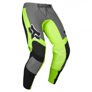 Spodnie FOX Flexair Mirer Black/Yellow