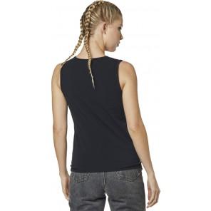 Koszulka Fox Lady Bez Rękawów Fox Squared Tie Black