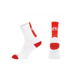 Skarpetki ACCENT Stripe biały/czerwony
