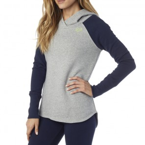 Bluza Fox Lady Z Kapturem Trot Heather Grey S