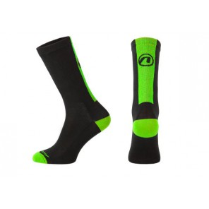 Skarpetki ACCENT Stripe Long czarny/zielony