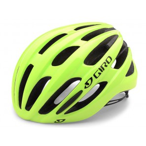 Kask szosowy GIRO FORAY INTEGRATED MIPS highlight yellow roz. M (55-59 cm) (NEW)