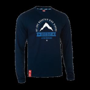 Bluza MOUNT NEW SANITIZED® RECYCLED granatowy L