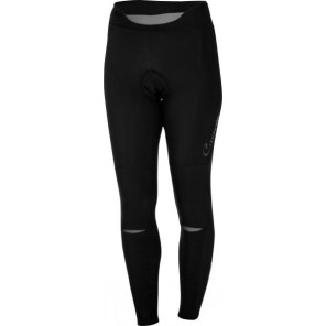 Castelli Damskie spodnie kolarskie bez szelek Chic,  czarno-szare, rozmiar XL