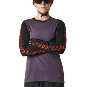 Koszulka Jersey FOX Lady Ranger DR fioletowy